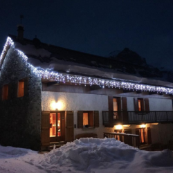 Gîte Village illuminé